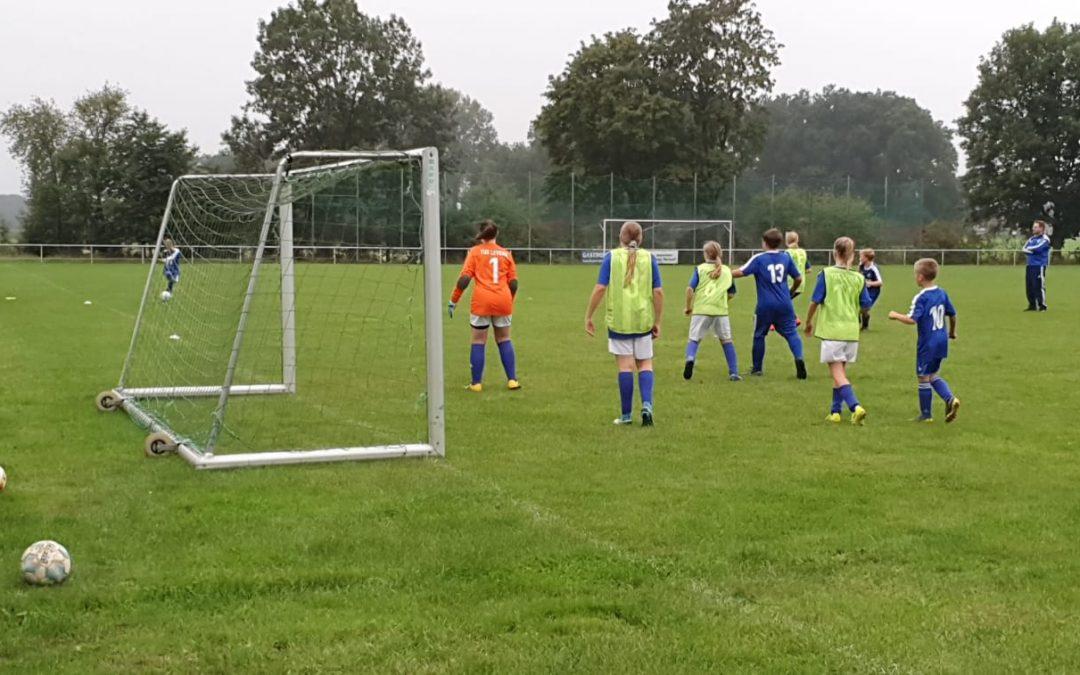 Meisterschaftsspiel der D-7 SG Schnathorst/Oberbauerschaft in Levern.