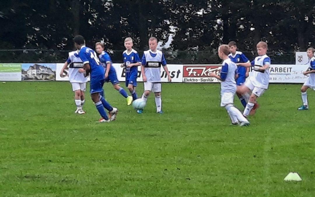 Aufstiegsspiel der D9er-Jugend zur Kreisliga A am Dienstag 08.09