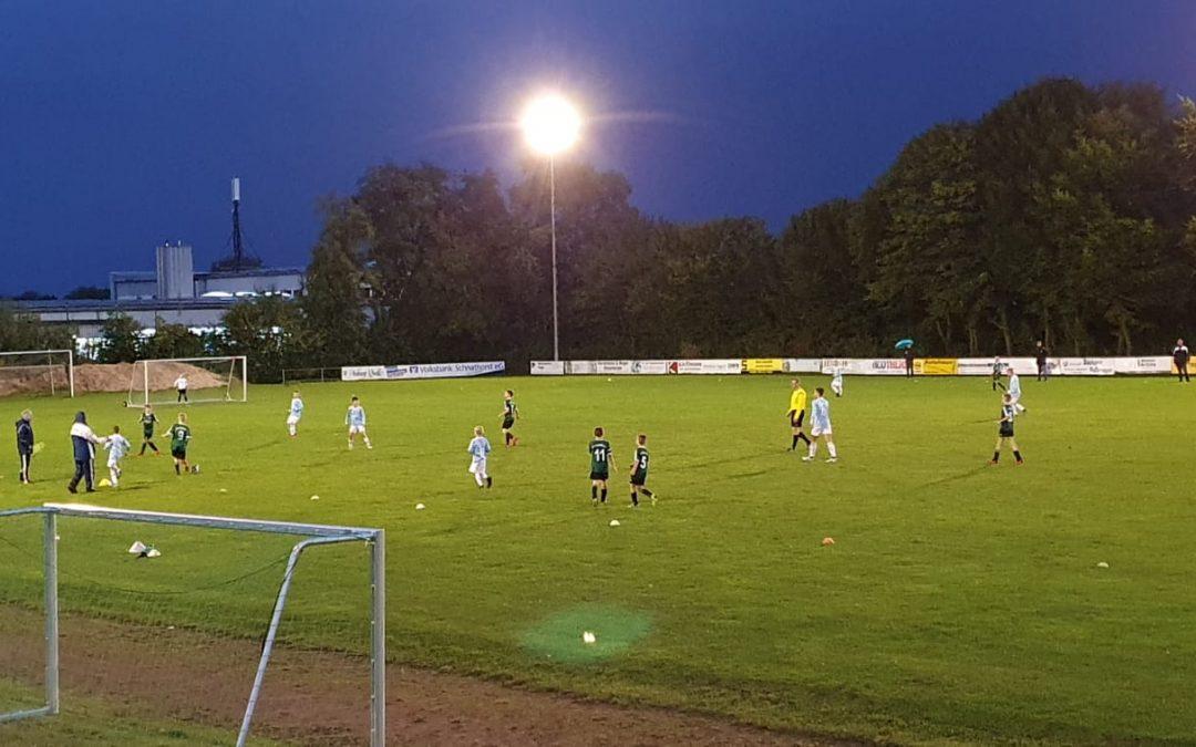 Kreispokal- D-Junioren Viertelfinale am Dienstag d.06.10.2020