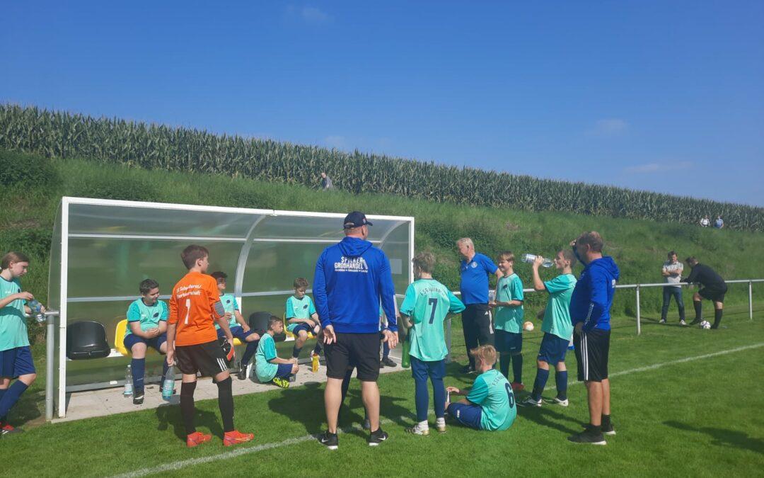 Qualifikationsspiel zur Kreisliga A -der C-Jugend FSG Hüllhorst II