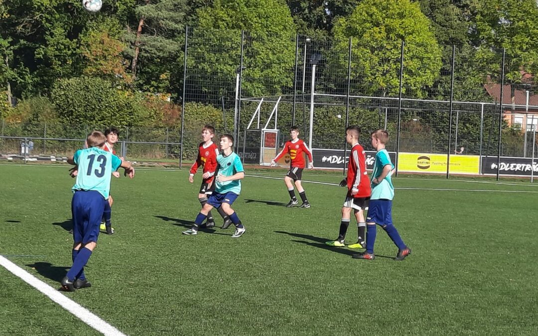 C-Junioren / FC Pr.Espelkamp II – FSG Hüllhorst II 3:0 (1:0)